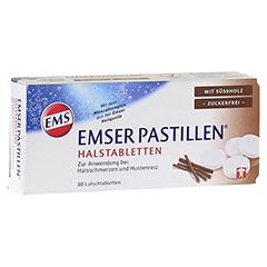 EMSER Pastillen mit Süßholz zuckerfrei 30 Stück