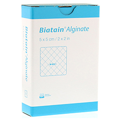 BIATAIN Alginate Kompressen 5x5 cm 10 Stück
