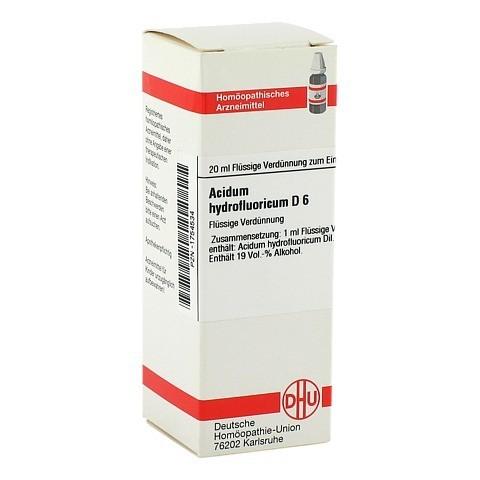 ACIDUM HYDROFLUORICUM D 6 Dilution 20 Milliliter N1