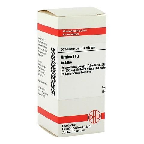 ARNICA D 3 Tabletten 80 Stück N1