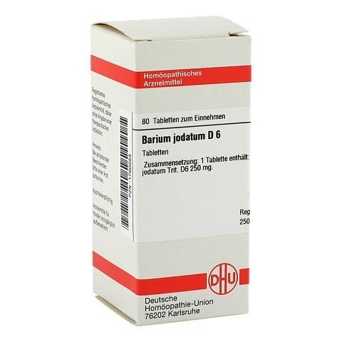 BARIUM JODATUM D 6 Tabletten 80 Stück N1