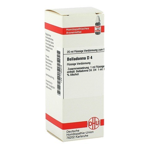 BELLADONNA D 4 Dilution 20 Milliliter N1