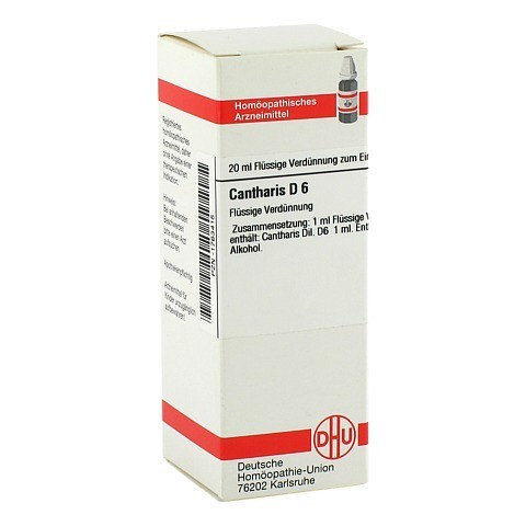 CANTHARIS D 6 Dilution 20 Milliliter N1