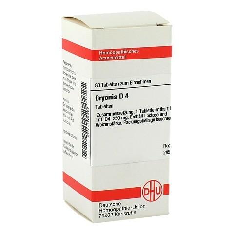BRYONIA D 4 Tabletten 80 Stück N1
