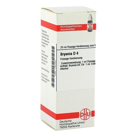 BRYONIA D 4 Dilution 20 Milliliter N1