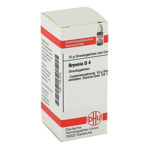 BRYONIA D 4 Globuli 10 Gramm N1