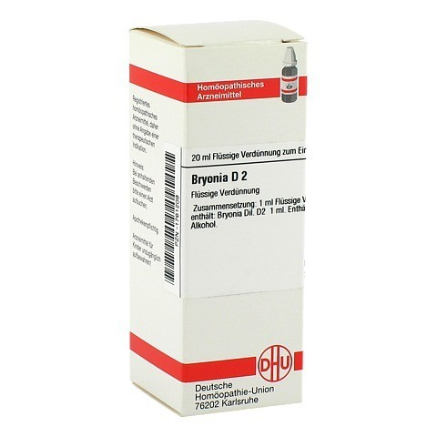 BRYONIA D 2 Dilution 20 Milliliter N1