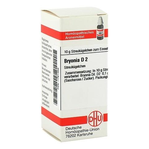BRYONIA D 2 Globuli 10 Gramm N1
