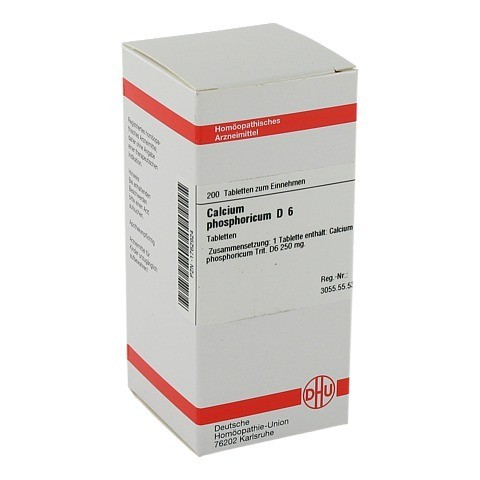 CALCIUM PHOSPHORICUM D 6 Tabletten 200 Stück N2