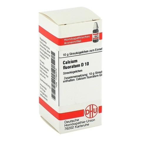 CALCIUM FLUORATUM D 10 Globuli 10 Gramm N1