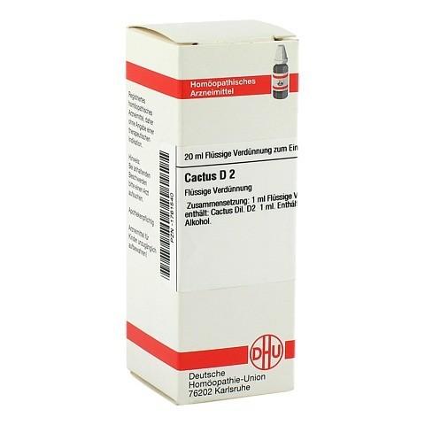 CACTUS D 2 Dilution 20 Milliliter N1