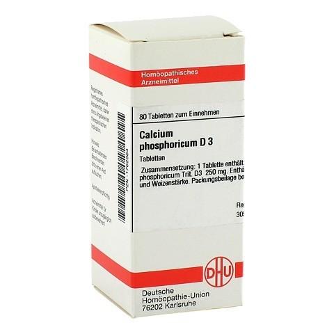 CALCIUM PHOSPHORICUM D 3 Tabletten 80 Stück N1