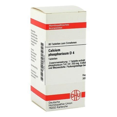 CALCIUM PHOSPHORICUM D 4 Tabletten 80 Stück N1