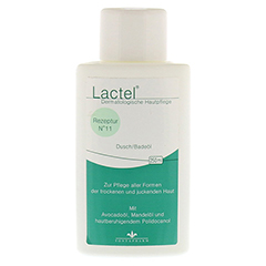 LACTEL Nr. 11 Dusch/Badeöl 250 Milliliter
