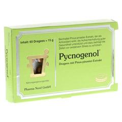 PYCNOGENOL KIEFERNRINDENEXTRAKT Pharma Nord Drag. 60 Stück