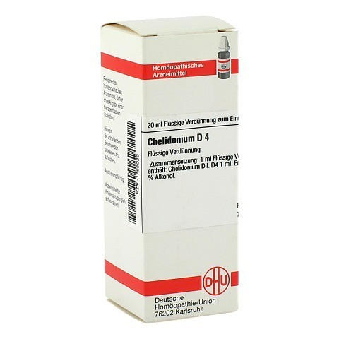CHELIDONIUM D 4 Dilution 20 Milliliter N1