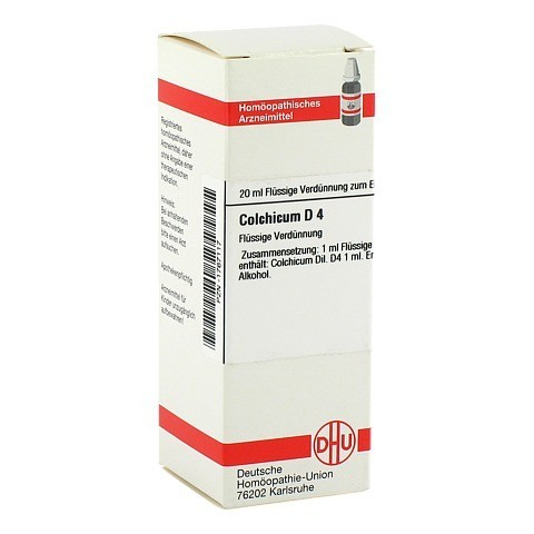 COLCHICUM D 4 Dilution 20 Milliliter N1