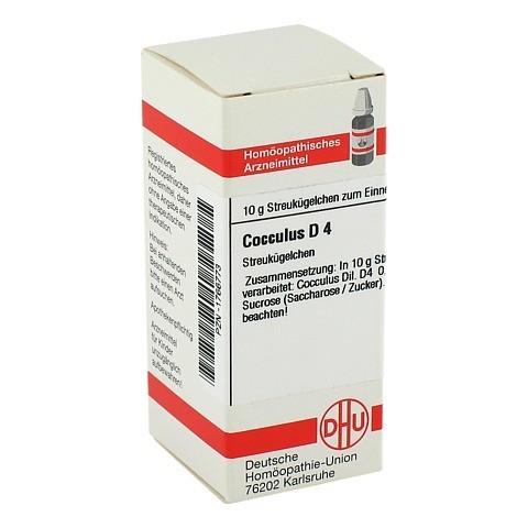 COCCULUS D 4 Globuli 10 Gramm N1