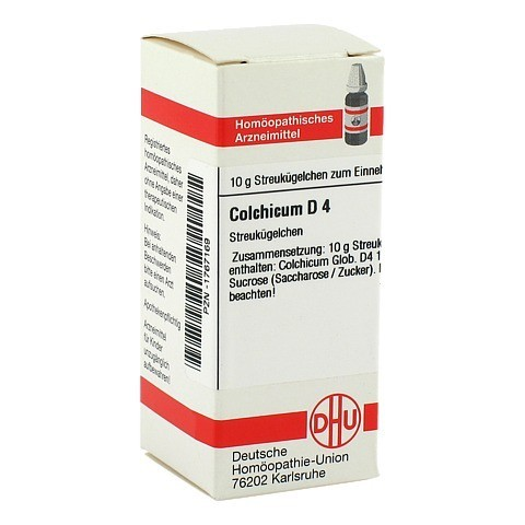 COLCHICUM D 4 Globuli 10 Gramm N1