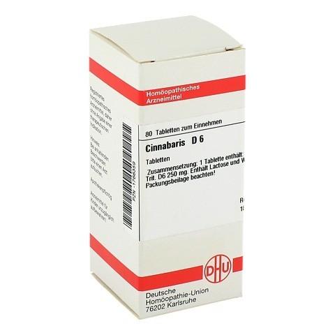 CINNABARIS D 6 Tabletten 80 Stück N1