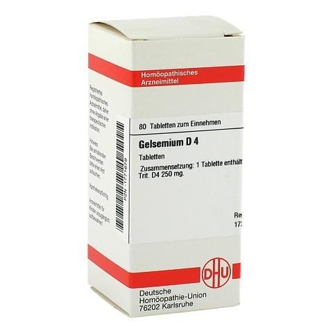 GELSEMIUM D 4 Tabletten 80 Stück N1