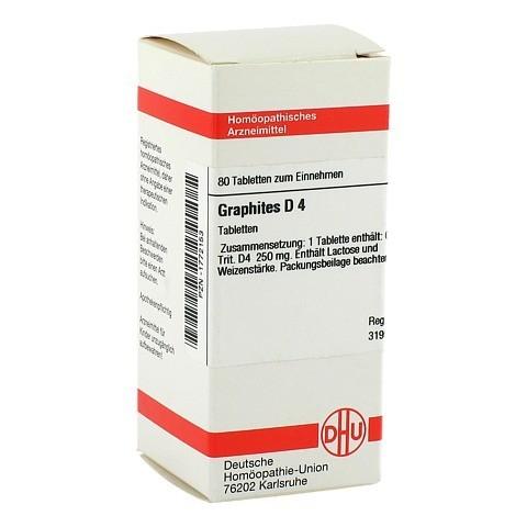 GRAPHITES D 4 Tabletten 80 Stück N1