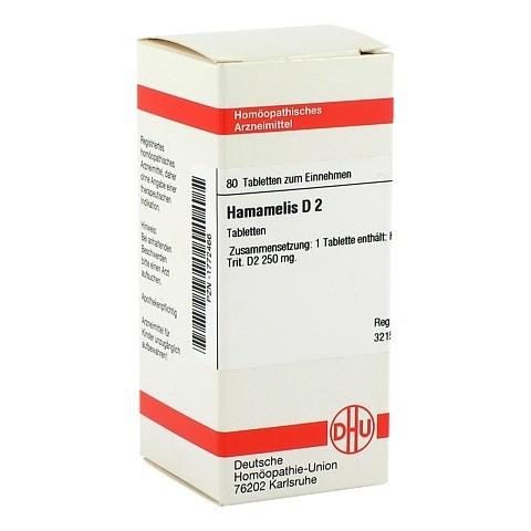 HAMAMELIS D 2 Tabletten 80 Stück N1