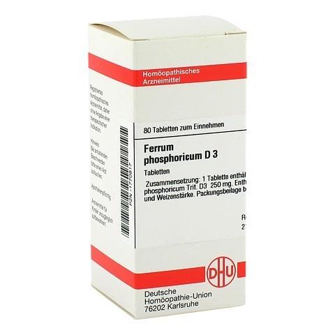 FERRUM PHOSPHORICUM D 3 Tabletten 80 Stück N1