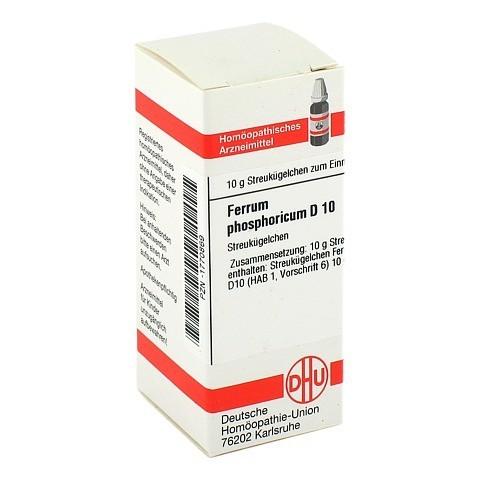 FERRUM PHOSPHORICUM D 10 Globuli 10 Gramm N1