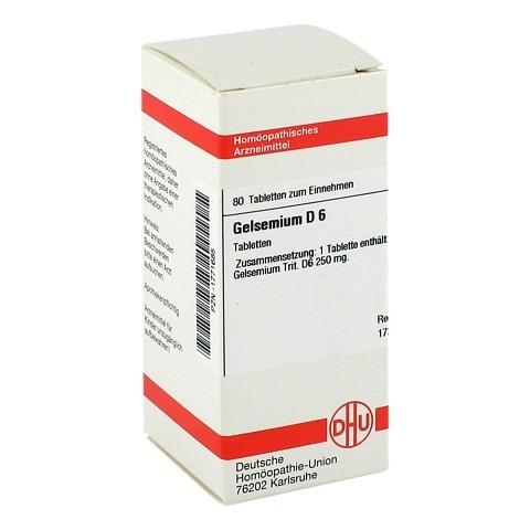 GELSEMIUM D 6 Tabletten 80 Stück N1