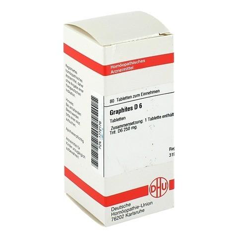 GRAPHITES D 6 Tabletten 80 Stück N1
