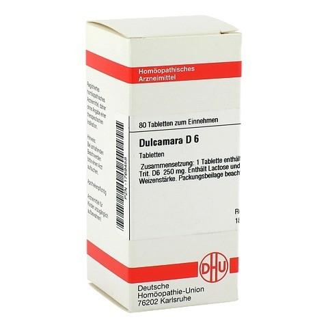 DULCAMARA D 6 Tabletten 80 Stück N1