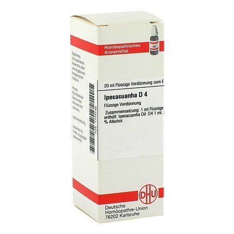 IPECACUANHA D 4 Dilution 20 Milliliter N1