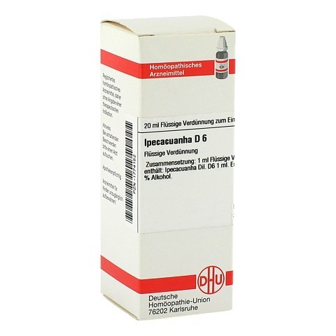 IPECACUANHA D 6 Dilution 20 Milliliter N1