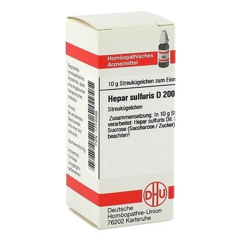 HEPAR SULFURIS D 200 Globuli 10 Gramm N1