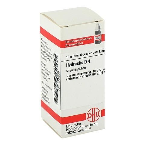 HYDRASTIS D 4 Globuli 10 Gramm N1