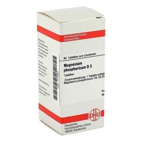 MAGNESIUM PHOSPHORICUM D 3 Tabletten 80 Stück N1