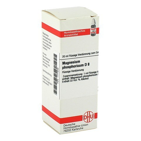 MAGNESIUM PHOSPHORICUM D 8 Dilution 20 Milliliter N1