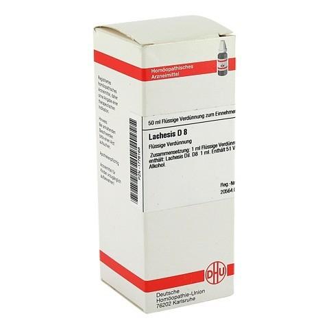 LACHESIS D 8 Dilution 50 Milliliter N1