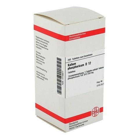 KALIUM PHOSPHORICUM D 12 Tabletten 200 Stück N2