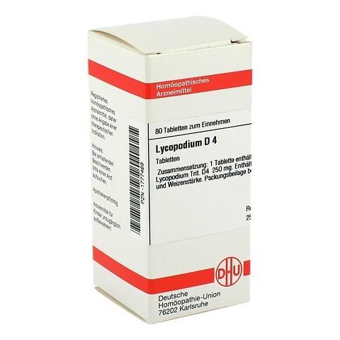 LYCOPODIUM D 4 Tabletten 80 Stück N1