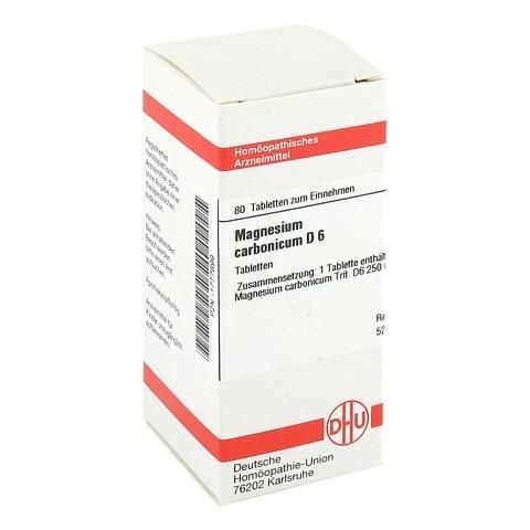 MAGNESIUM CARBONICUM D 6 Tabletten 80 Stück N1