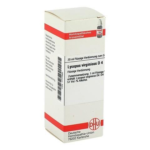 LYCOPUS VIRGINICUS D 4 Dilution 20 Milliliter N1