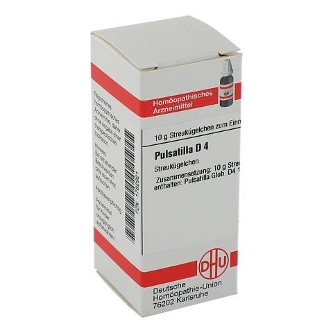 PULSATILLA D 4 Globuli 10 Gramm N1
