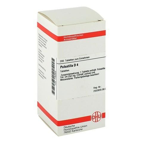 PULSATILLA D 4 Tabletten 200 Stück N2
