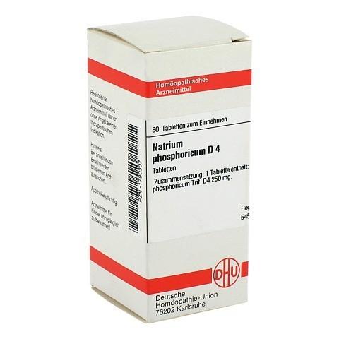 NATRIUM PHOSPHORICUM D 4 Tabletten 80 Stück N1