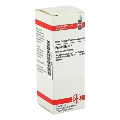 PULSATILLA D 4 Dilution 20 Milliliter N1