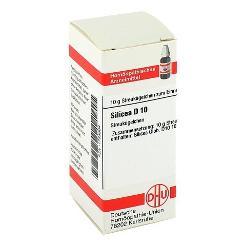 SILICEA D 10 Globuli 10 Gramm N1