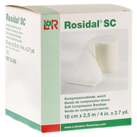 ROSIDAL SC Kompressionsbinde weich 10 cmx2,5 m 1 Stück