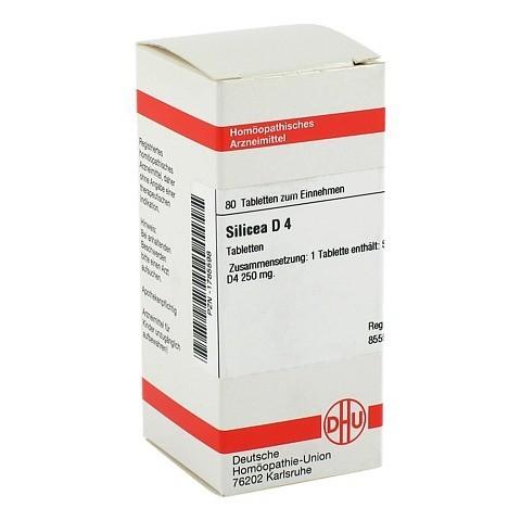 SILICEA D 4 Tabletten 80 Stück N1